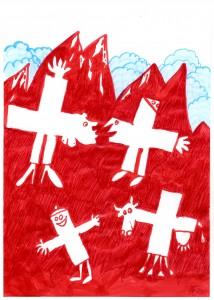 Kalenderblatt Schweiz 2009 0807182