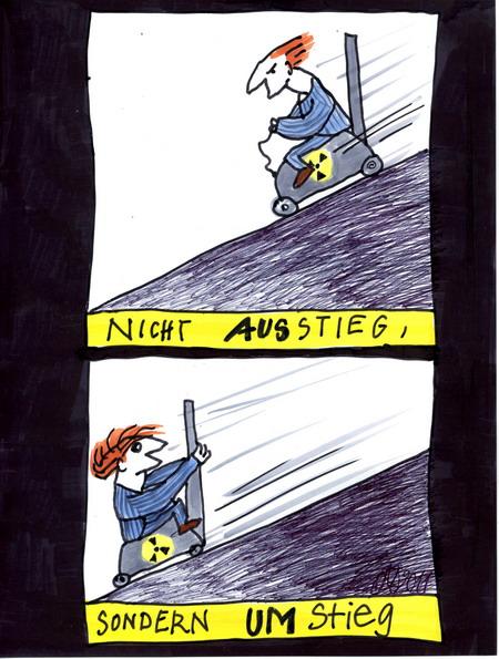 Zeichnung: V. Onmir, Rabenkalenderrückseite vom 23.3.2011