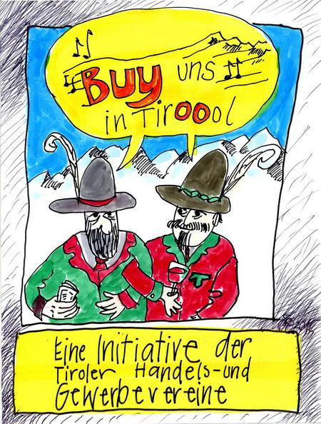 Zeichnung: V. Onmir, Rabenkalenderrückseite 31.1. 2015
