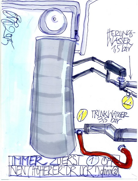 Zeichnung: V. Onmir, Rabenkalenderrückseite 24.2. 2015