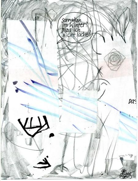 Zeichnung: V. Onmir, Rabenkalenderrückseite 25.2. 2015