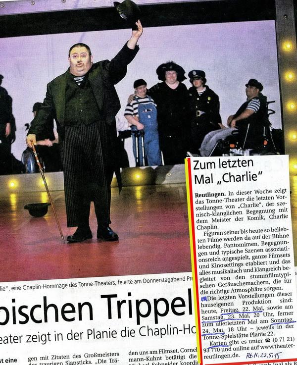 Reutlinger Nachrichten/SWP 2.5. und 22.5. 2015