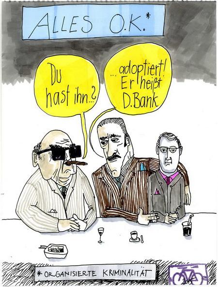 Zeichnung: Psssst V. Onmir, Rabenkalenderrückseite 6.11. 2015