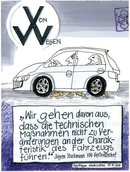 Zeichnung: Von  Wegen Onmir, Rabenkalenderrückseite 17.12.2015
