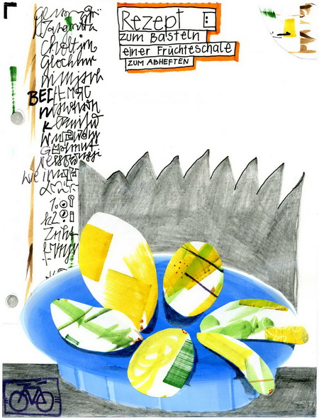Zeichnung: Bäschtler V. Onmir, Rabenkalenderrückseite 22.12.2015
