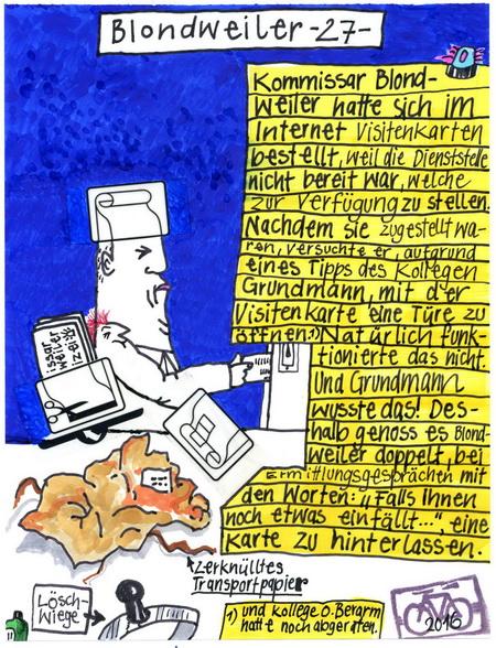 Zeichnung: V. Onmir, Rabenkalenderrückseite 9.4.2016