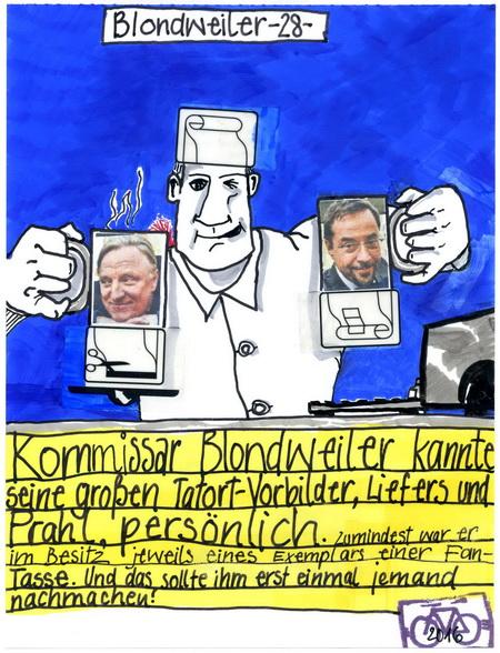 Zeichnung: V. Onmir, Rabenkalenderrückseite 15.4.2016