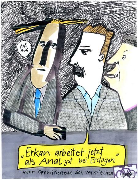 Zeichnung: V. Onmür, Rabenkalenderrückseite 206.2016