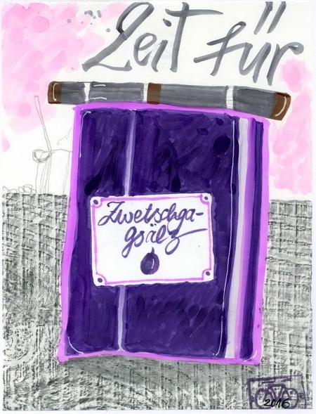 Zeichnung: V. Onmir, Rabenkalenderrückseite 29.8.2016