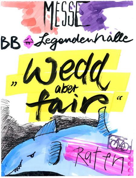 Zeichnung: Aussteller V. Onmir, Rabenkalenderrückseite 23.10.2016