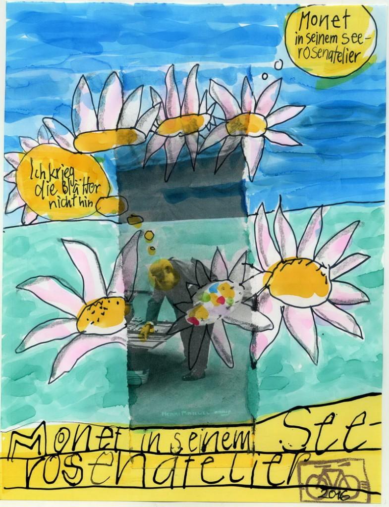 Zeichnung: V. Onmir, Grundlage Bild aus boesner-Taschenkalender, Rabenkalenderrückseite 14.12. 2016